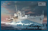 ORP Slazak 1943 Hunt II Class Destroyer Escort 1/700 IBG Models