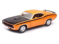 1970 Plymouth Cuda Car 1/24 New Ray