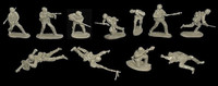 WWII German Assault Squad (11) 1/32 Classic Toy Soldiers