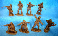 Korean War Chinese Infantry (16) 1/32 Classic Toy Soldiers