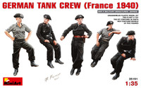 German Tank Crew France 1940 (5) 1/35 Miniart