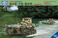VCL A4E12 Late Light Amphibious Tank Central Troops National Revolutionary Army 1/35 Riich