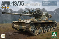 AMX-13/75 French Light Tank with SS11 ATGM Gun (2-in-1) 1/35 Takom Models