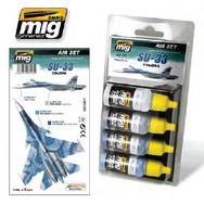 Su-33 Colors Acrylic Paint Set AMMO of Mig Jimenez