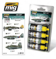Luftwaffe WWII Late Colors Acrylic Paint Set AMMO of Mig Jimenez