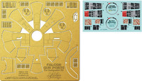 DeAgostini Millennium Falcon Gun Port Photo-Etch & Decal Set 1/43 Paragrafix