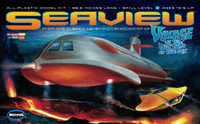 Voyage to the Bottom of the Sea: Seaview 4-Window Submarine TV Version 1/128 Moebius