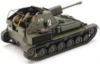 Su76M Russian Tank w/Self-Propelled Gun 1/35 Tamiya