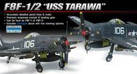 F8F-1/2 USS Tarawa USN Fighter 1/48 Academy