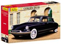 Citroen DS19 4-Door Car 1/16 Heller