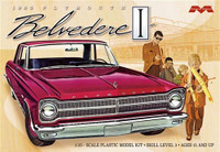 1965 Plymouth Belvedere Car 1/25 Moebius