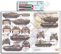 Syrian AFVs Syrian Civil War 2011 Pt.1 BMP-1, BMP-2, 2S1 & 2S3 1/35 Echelon