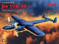 WWII German Do 17Z-10 Night Fighter 1/72 ICM Models