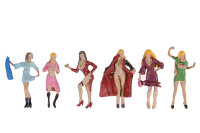 Ladies of the Night (6) HO Scale Noch