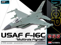 F-16C Multi-Role USAF Fighter (Snap) 1/72 Academy