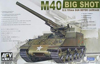 M40 Big Shot US 155mm Gun Motor Carriage 1/35 AFV Club