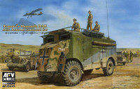 Rommel's Mammoth DAK AEC Armored Command Car 1/35 AFV Club