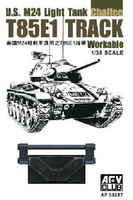 T85E1 Workable Track Links for US M24 Light Tank 1/35 AFV Club