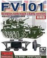 FV101 FV107 Scorpion Family Workable Track Links Early Version 1/35 AFV Club