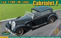 Type 770K (W150) Convertible F Staff Car 1/72 Ace Models