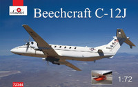 Beechnut C12J Military Turbo Prop Aircraft 1/72 A-Model