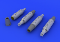 UB16 Rocket Pods (Photo-Etch & Resin) 1/72 Eduard