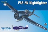 F6F-5N Night Fighter (Wkd Edition Plastic Kit) 1/72 Eduard