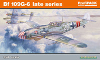 Bf 109G-6 Late Series Fighter (Profi-Pack Plastic Kit) 1/48 Eduard