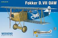 Fokker D VII OAW BiPlane (Wkd Edition Plastic Kit) 1/48 Eduard