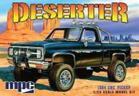 1984 GMC Deserter Pickup Truck (Black) 1/25 MPC