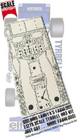 Tyrrell 003 Monaco GP Photo-Etch Detail Set For TAM 1/12 Scale Motorsport