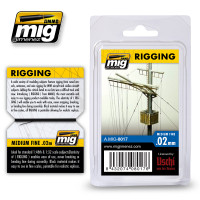 Rigging - Medium Fine 0.02 mm AMMO of Mig Jimenez