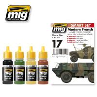 Modern French Armed Forces Acrylic Paint Set AMMO of Mig Jimenez