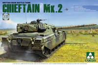 British Chieftain Mk 2 Main Battle Tank 1/35 Takom