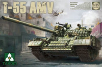 Russian T55AMV Medium Tank 1/35 Takom
