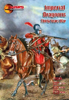 Thirty Years War Imperial Dragoons (12 Mtd) 1/72 Mars Models