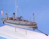 "USS Spuyten Duyvil Union Torpedo Boat (10.5""L) 1/96 Cottage Industries"