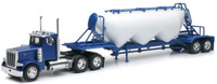 Peterbilt 379 w/Pneumatic Dry Bulk Trailer (Die Cast) 1/32 New Ray