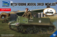 British Airborne Universal Carrier & Welbike (Ltd Edition) 1/35  Riich