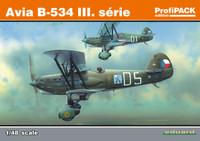 Avia B534 III Serie BiPlane Fighter (Profi-Pack) 1/48 Eduard