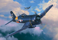 F4U-4 Corsair US Fighter/Bomber 1/72 Revell Of Germany