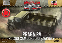 WWII Praga RV Troop Transporter in Polish Service 1/72 First To Fight Models