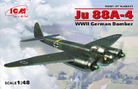 WWII German Ju 88A-4 Bomber 1/48 ICM Models