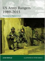 Elite: US Army Rangers 1989-2015 Panama to Afghanistan Osprey Books