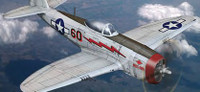 P-47D Thunderbolt USAAF Fighter 1/144 Minicraft