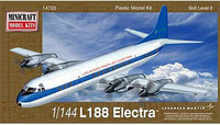 L-188 Electra US Turbo-Prop Airliner 1/144 Minicraft