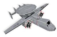 E-2C Hawkeye Plane 3D Foam Puzzle (84pcs) Cubic Fun