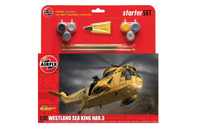 Westland Sea King HAR3 Helicopter Large Starter Set w/paint & glue 1/72 Airfix