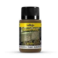 European Splash Mud Weathering Effect 40ml Bottle Vallejo