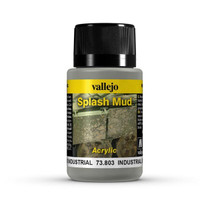 Industrial Splash Mud Weathering Effect 40ml Bottle Vallejo